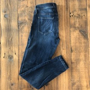 Guess Medium Wash Distressed Jeans